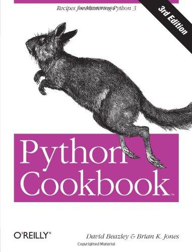 Couverture Python Cookbook