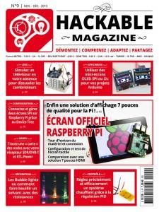 Couverture magazine Hackable numéro 9